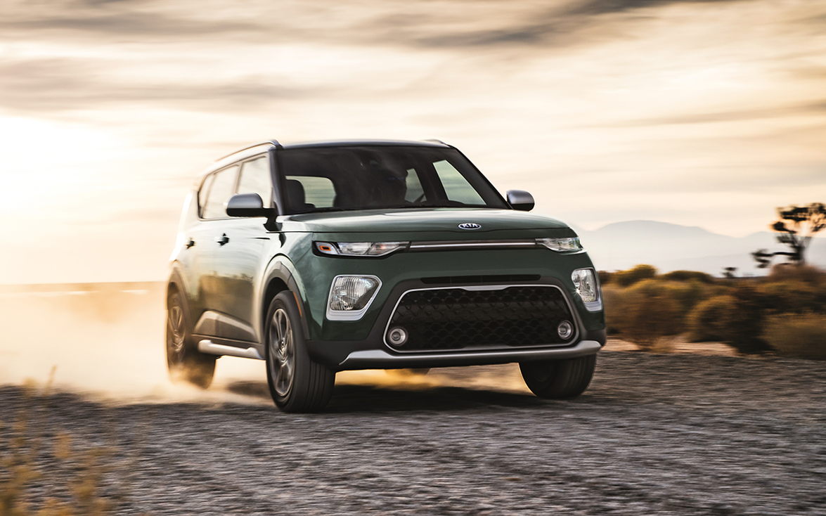 """2. Kia Soul: """"Our 2019 5-Year Cost to Own winner in the compact car category, the Kia Soul makes..."""