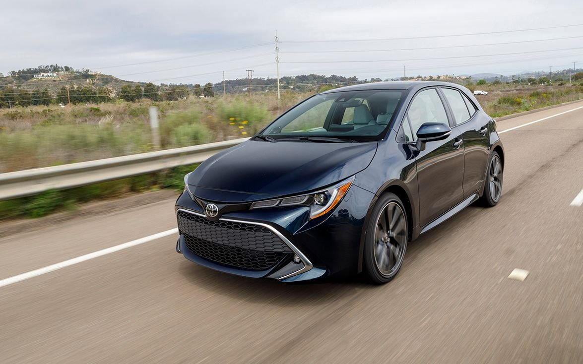 "1. Toyota Corolla Hatchback: ""Toyota's small hatchback is fuel-efficient and sporty and offers..."