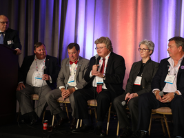 "Compliance Summit's closing session, ""Is It Compliant?,"" was led by Bob Harkins of the American..."