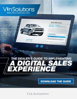 The Dealer's Guide to Implementing a Digital Sales Experience