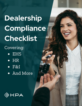 Dealership Compliance Checklist