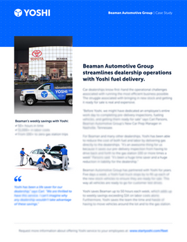 How Dealers Can Save Time and Money With an Innovative New Fueling Solution
