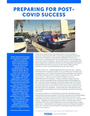 Preparing for Post-COVID Success