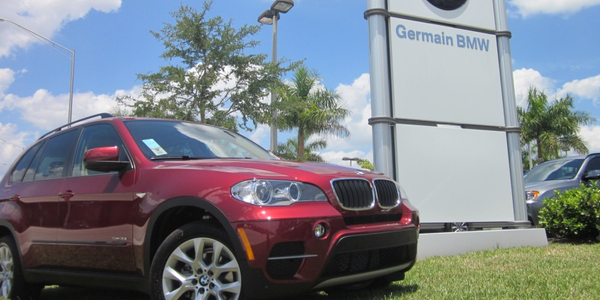 In Naples, Fla., the management staff at Germain BMW recently took on the task...