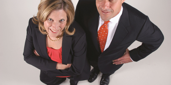 Owners Jill and Jeffrey Merriam are a brother-and-sister team at Key Hyundai. Photo: Lisa Cascone