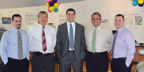 Sales managers Graham Fernandez, Clark Osborne, and Jim Hitchcock, Olesnavage and Finance...