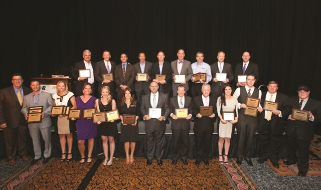 The group that attended the Dealers' Choice Awards presentation included several of the industry's leading executives, trainers and dealer operations experts. The awards were voted on in May and the results announced in the August 2014 issue of Auto Dealer Monthly.