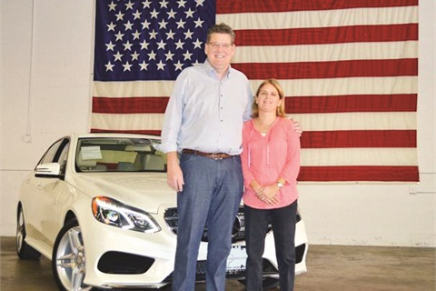 Pete and Jenny Bulban are a husband/wife team at Texas Cars Direct. Pete serves as president and attends manufacturer auctions around the country. Jenny, a former schoolteacher, runs the reconditioning department.