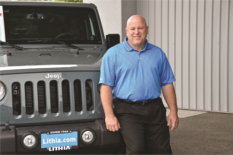 Steve Fox started his automotive retail career as a service tech and now serves as general manager for Lithia Chrysler Jeep Dodge of Santa Rosa, Calif.