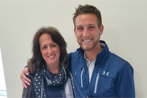 Internet Manager Michele Hinkley and Sales Consultant Joel White are friends and teammates at Seymour Ford Lincoln of Jackson, Mich.Photo by Taryn Hatch