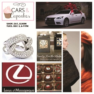In December, Lexus of Massapequa hosted Cars & Cupcakes, a one-night event where women were invited to partake in cupcakes, cocktails and shopping.