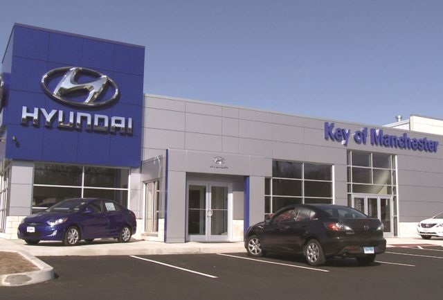 Key Hyundai's Manchester, Conn., store served as Jill and Jeffrey Merriam's laboratory for a variety of experiments designed to maximize personnel, profits and customer service. Photo: Chuck Dortenzio
