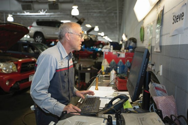 Steve Travis has been a member of the Liberty Toyota staff since 1978 and has earned a number of awards, including nomination to the 2014 Assembly of Champions.Photo:Brent Asay