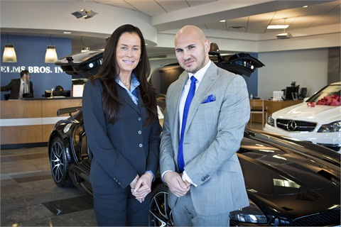 Suzanne Cochrane says it would take as many as five people to replace Michael Nekava. He sold more than 400 vehicles in 2013, more than four times as many as the per-salesperson average.