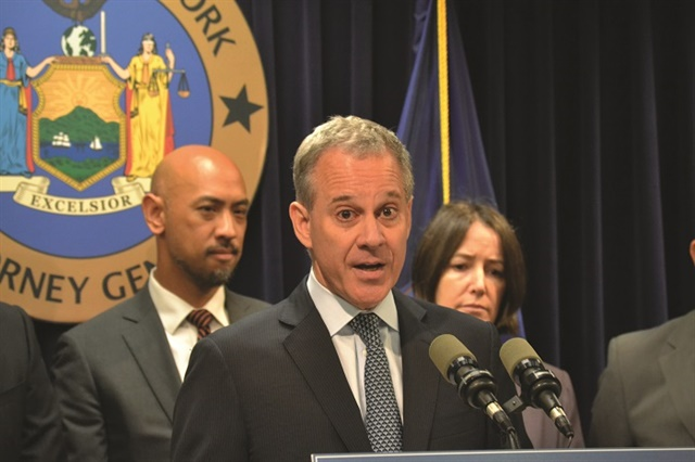 In September, New York Attorney General Eric T. Schneiderman announced that Nissan of New Rochelle would pay $298,000 to settle charges of selling a bogus anti-theft product. Photo courtesy New York State Office of the Attorney General