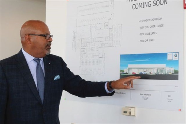 An ongoing renovation and expansion project will add space and style to New Country BMW's sales and service operations.