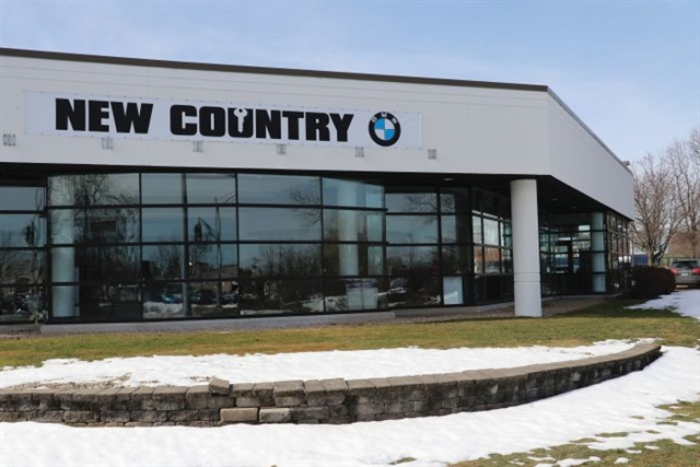 New Country BMW is located on Weston Park Road in Hartford, Conn., across the street from New Country's MINI and Mercedes-Benz stores.