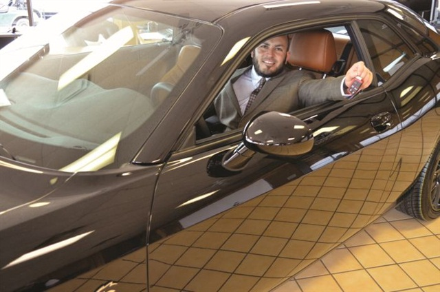 Oscar Rodriguez averages 48 units per month as a sales professional and Chrysler Elite honoree at All American Chrysler Jeep Dodge in San Angelo, Texas.