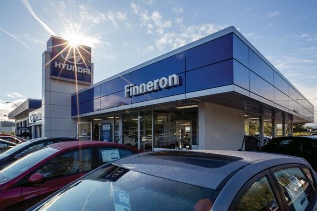 """Located in """"pickup country"""" on the east coast of Vancouver Island in British Columbia, Canada, Finneron Hyundai boasts a 12% market share for a brand that averages 8% nationwide."""