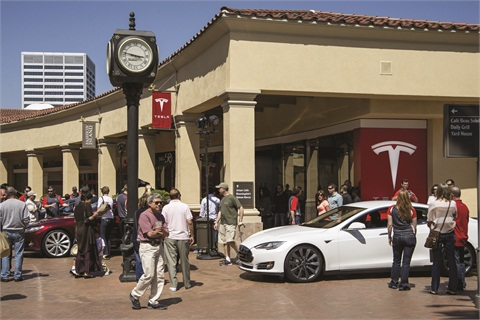 Tesla Motors' direct-to-consumer sales model has been opposed by associations such as the National Automobile Dealers Association.