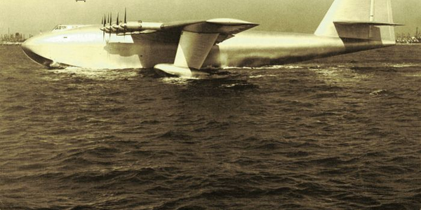 "When Howard Hughes designed and built airplanes, including the so-called ""Spruce Goose,"" he paid..."