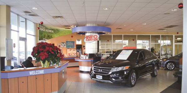 Greg Rietz is typically the first staff member to arrive at the Lujack Honda showroom, using his...