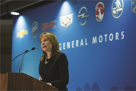 CEO Mary Barra addressed GM's annual stockholders meeting in June. The OEM's 2014 tally of recalled vehicles would reach 28.9 million by July 1.