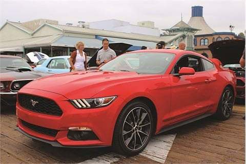 The launch of the fully redesigned 2015 Ford Mustang brought relief to the author, who feared the OEM would attempt to use European styling to expand the American classic's global appeal.