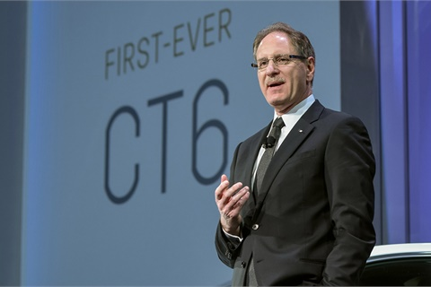 Johan de Nysschen held leadership roles at Audi and Infiniti before serving as president of General Motors' Cadillac division for nearly four years before departing in June. Photo courtesy General Motors Co.
