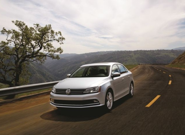 """Volkswagen has pledged to compensate dealers for halted sales on models affected by """"Dieselgate,"""" including the 2015 Jetta, pictured."""