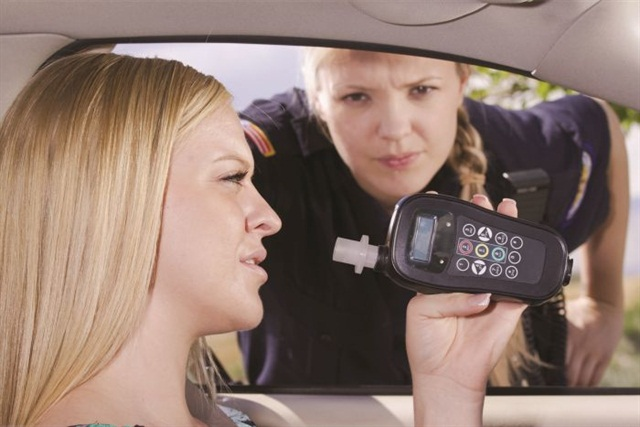 The National Highway Traffic Safety Administration and Mothers Against Drunk Driving have introduced a prototype vehicle that uses the same technology as breathalyzer machines to automatically measure a driver's blood-alcohol content.