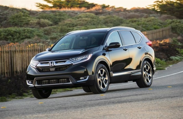 The Honda CR-V is one of Kelley Blue Book's Top 12 family cars for the 2017-MY, a list that includes eight SUVs and four minivans. The author says the shift away from sedans could cost the Toyota Camry and Honda Accord their spots atop the list of bestselling cars.