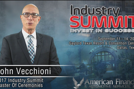 (Video) Industry Summit 2017: Don't Miss the Who's Who in F&I