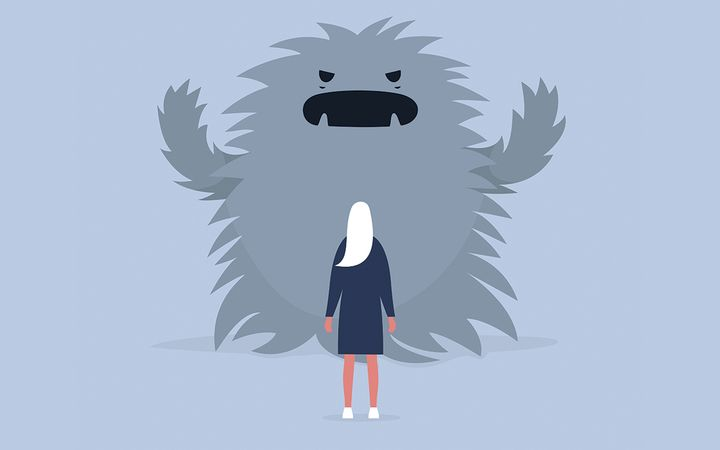 Fear causes F&I managers to react in the moment when obstacles appear. True professionals process before reacting.  - Illustration by nadia_bormotova via Getty Images