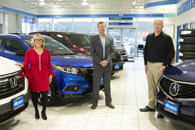 In 2017, Finance Director Cindy Merry, Co-Principal Owner Marten Martensen, and Sales Director...
