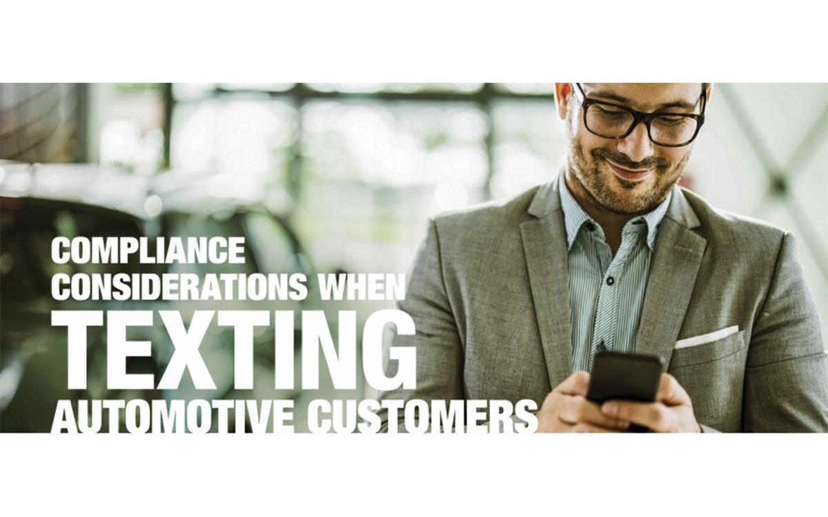 Compliance Considerations When Texting Automotive Customers