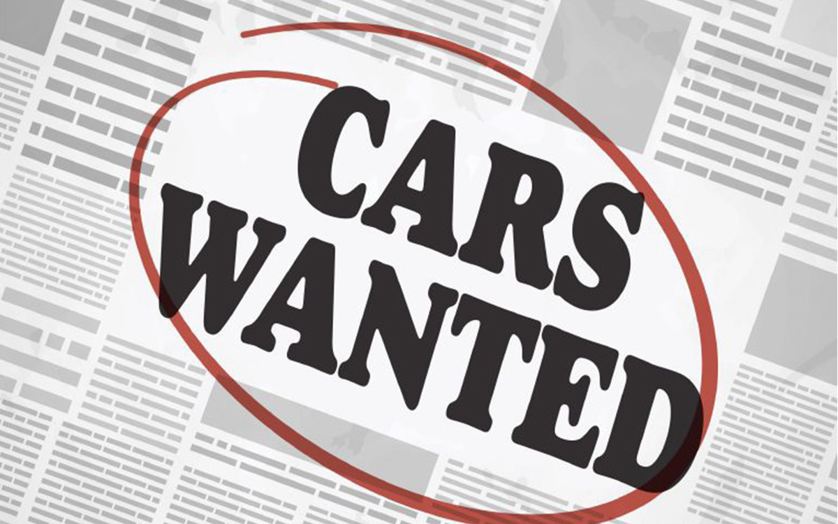 Today's Bizarro Automotive World: Dealers Advertising to Acquire Cars