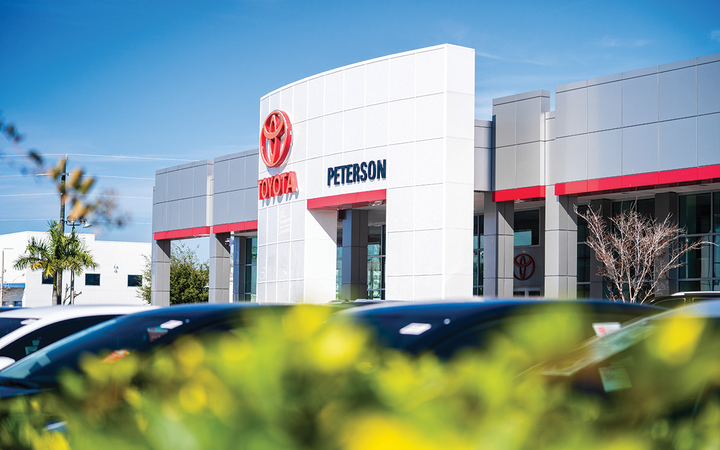 Peterson Toyota of Sarasota is the first Florida store and first Toyota franchise for the Louisville, Ky.-based Peterson Automotive Collection. 