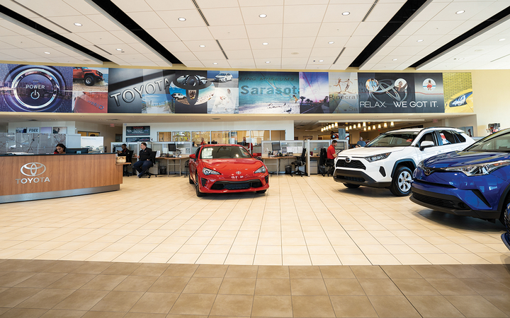 Waddell says the number of customers who initiate and complete their sales and F&I transaction online varies between 5% and 12%. The majority reach a stopping point and call or email the dealership to complete the deal. 