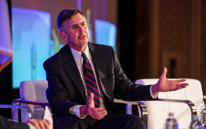 "Texas dealer and 2019 NADA Chairman Charlie Gilchrist told Vehicle Finance Conference attendees that new-vehicle affordability remains a ""top concern"" for the association. 