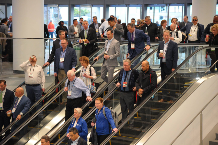 Exhibitors at NADA Show 2019 said many of the dealers in attendance were searching for new ways to establish or enhance their online brands.   - Photo courtesy NADA