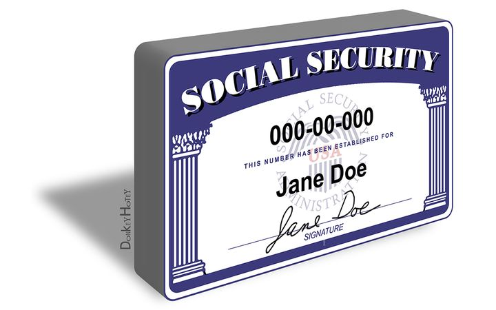 The social security number is the most critical component for finance and lease deals and we often need to make a copy of a document for our deal jacket. Be sure to know which version you should see, and double-check the security measures. - IMAGE: Donkey Hotey via Flickr