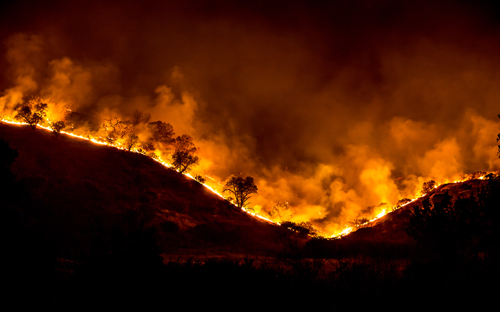 """Simi Valley (Calif.) Ford faced heavy criticism after a November email promotion promised """"smoking hot deals"""" in the midst of a deadly string of wildfires.   - Photo by Peter Buschmann courtesy U.S. Forest Service"""