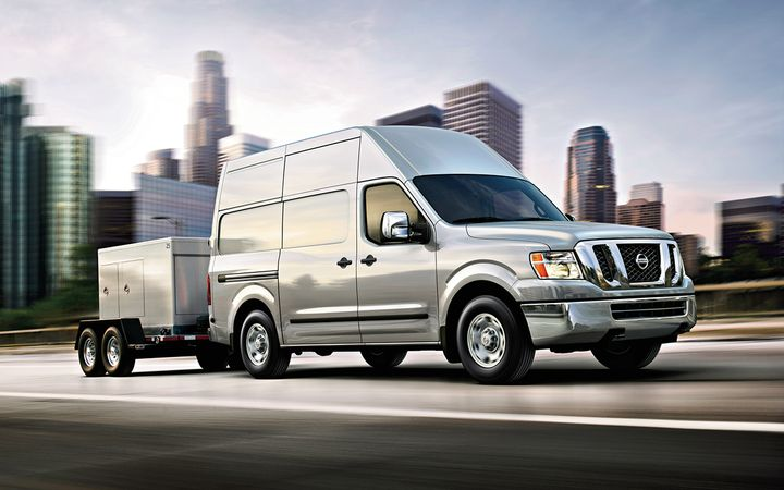 Pre-owned compact vans such as the Nissan NV declined in value by 2.2% in September.   - Photo courtesy Nissan North America