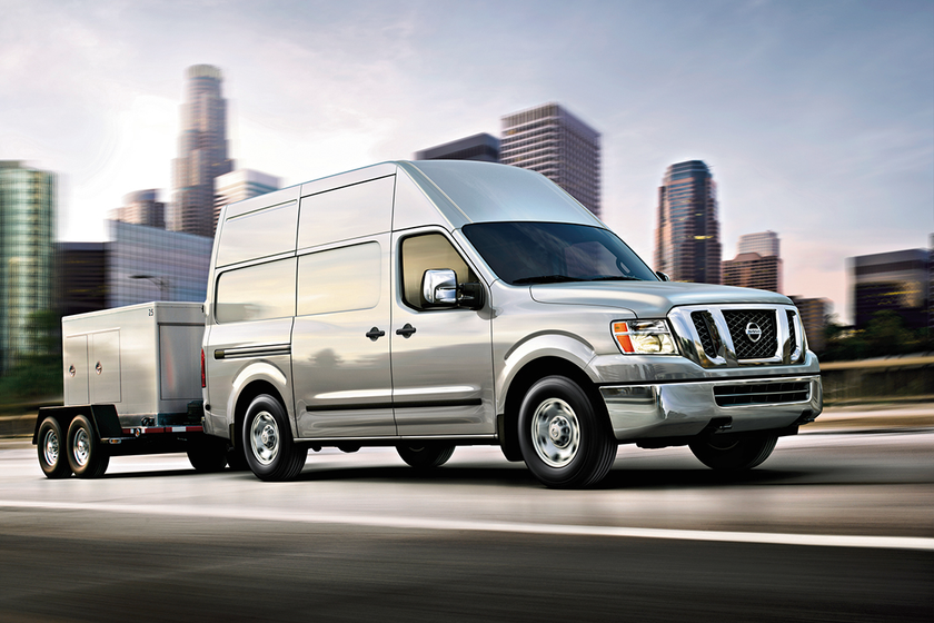 Pre-owned compact vans such as the Nissan NV declined in value by 2.2% in September.