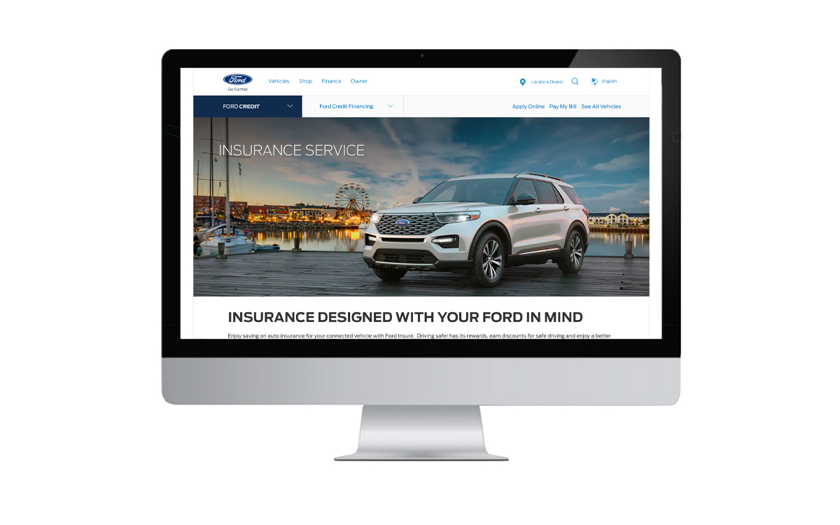 Ford Credit Rolls Out Discount Car Insurance Program