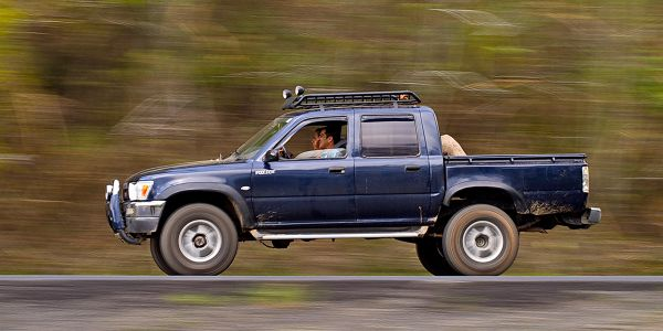 Black Book analysts say values for pre-owned full-size pickups and small pickups fell by 1.3%...