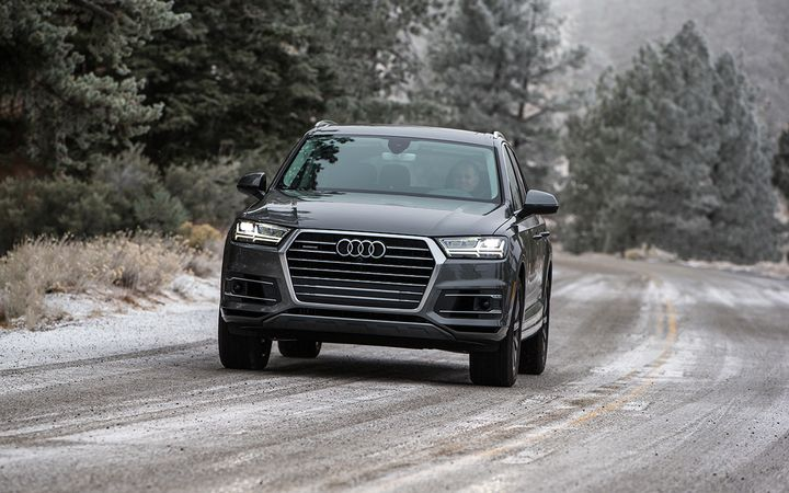 Sales of trucks and SUVs, such as the Audi Q7, have helped auto finance sources grow balances despite fewer originations.  - Photo courtesy Audi USA