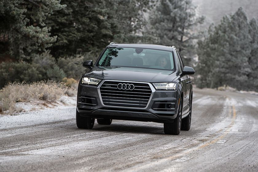 Sales of trucks and SUVs, such as the Audi Q7, have helped auto finance sources grow balances...