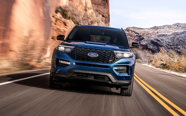 The cost to buy a Ford Explorer increased by nearly 6% year-over-year in October.  - Photo courtesy Ford Motor Co.